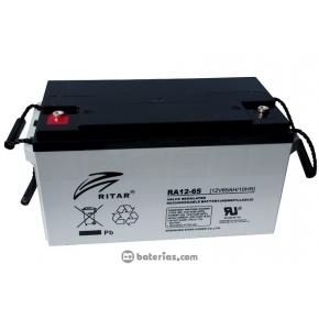Bateria Ritar 12v 65Ah AGM Libre Mantenimiento