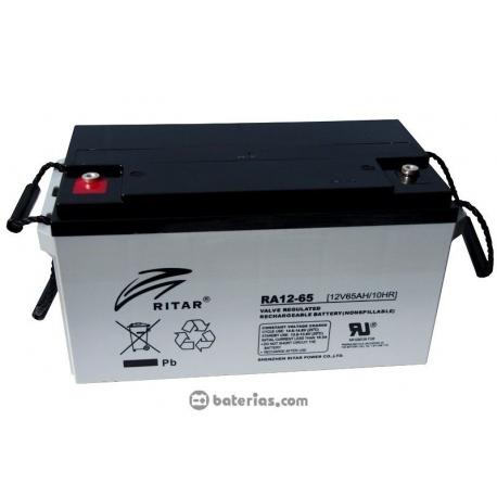 Bateria Solar de Ritar 65Ah