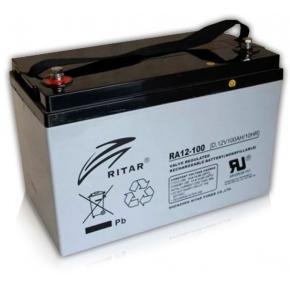 Bateria Ritar 12v 100Ah RA AGM Libre Mantenimiento