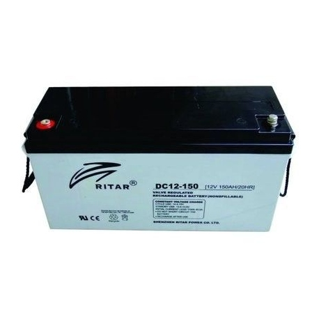 Bateria Solar de Ritar 150Ah