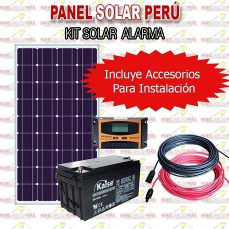 Kit Solar Para Alarma De Seguridad