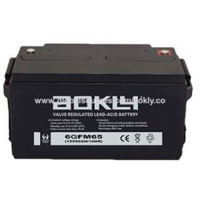 Bateria Solar Aokly 12v 65Ah AGM Libre Mantenimiento
