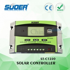 CONTROLADOR PWM LCD SUOER 20A + USB