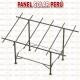 Estructura tipo mesa F° G° para 9 paneles 250wp - 330wp
