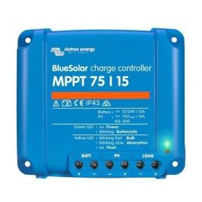 CONTROLADOR MPPT Blue Solar 75/15-Tr (12/24v-15A)