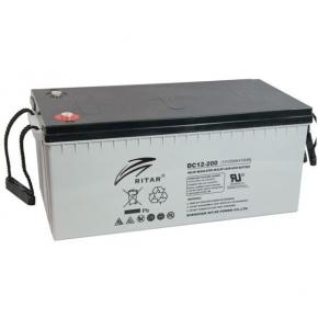 Bateria Ritar 12v 200Ah AGM Libre Mantenimiento