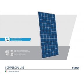 Panel Solar 340wp Policristalino Peimar Italian