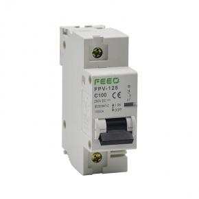 Termomagnético DC FEEO 1P 125A 250VDC MCB