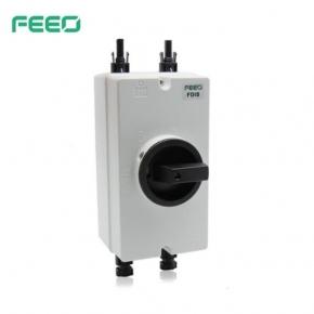 Interruptor aislador impermeable FDIS DC FEEO 2P 32A con MC4 DC Isolator