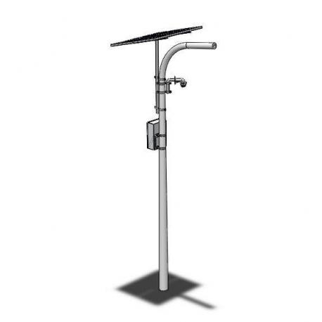 Kit Solar con camara PTZ + Conexión inalambrica