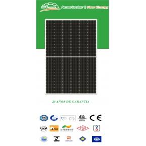Panel Solar 410Wp Amerisolar Monocristalino PERC HALF CELL
