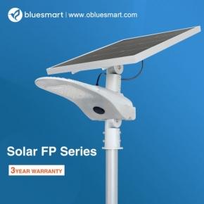 Poste de 6m + Luminaria Solar 4000lm Bluesmart Exterior