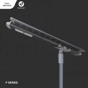 Luminaria Solar 100W 18000lm Bluesmart Exterior Integrado  con sensor de movimiento