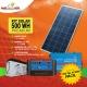 Kit solar Peru 500W Premium : Luz, TV, Portátil. ONDA MODIFICADA