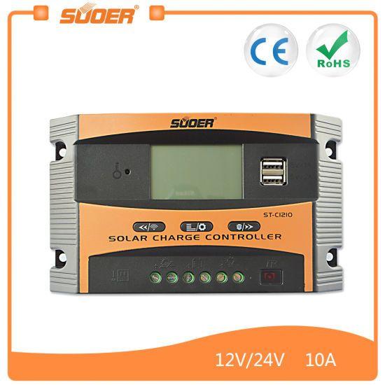 Controlador Solar SUOER 10A