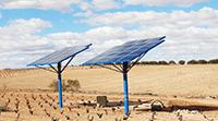 Riego solar fotoltaico
